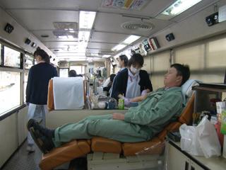 北見 献血バス