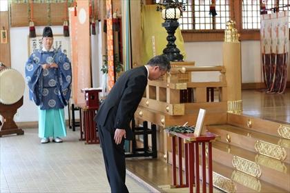 北見神社安全祈願