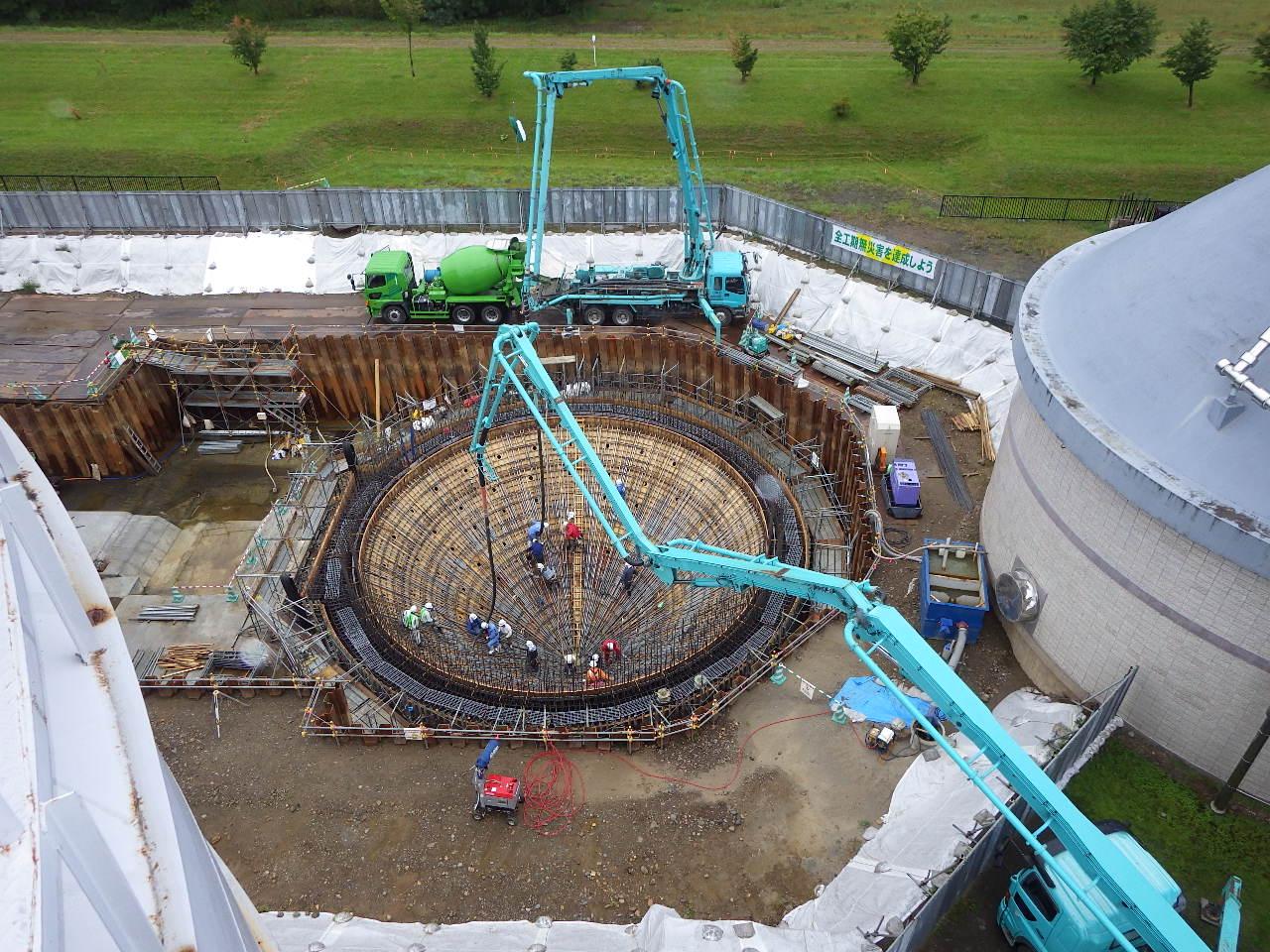 公共下水道浄化センター土木建築工事(第2工区)