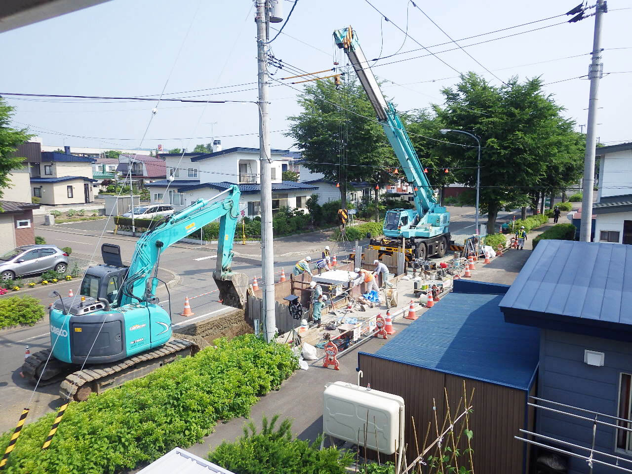 公共下水道入馬川第2幹線新設工事(第14工区)