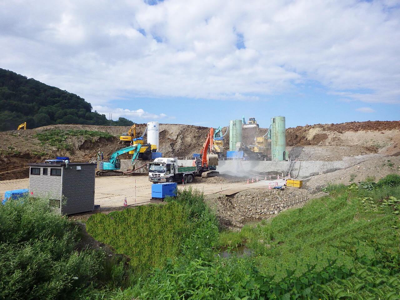 旭川紋別自動車道 遠軽町 野上東改良工事