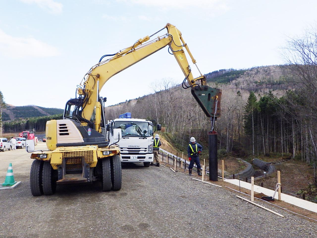配筋探査 引張試験 鋼製防護柵非破壊試験